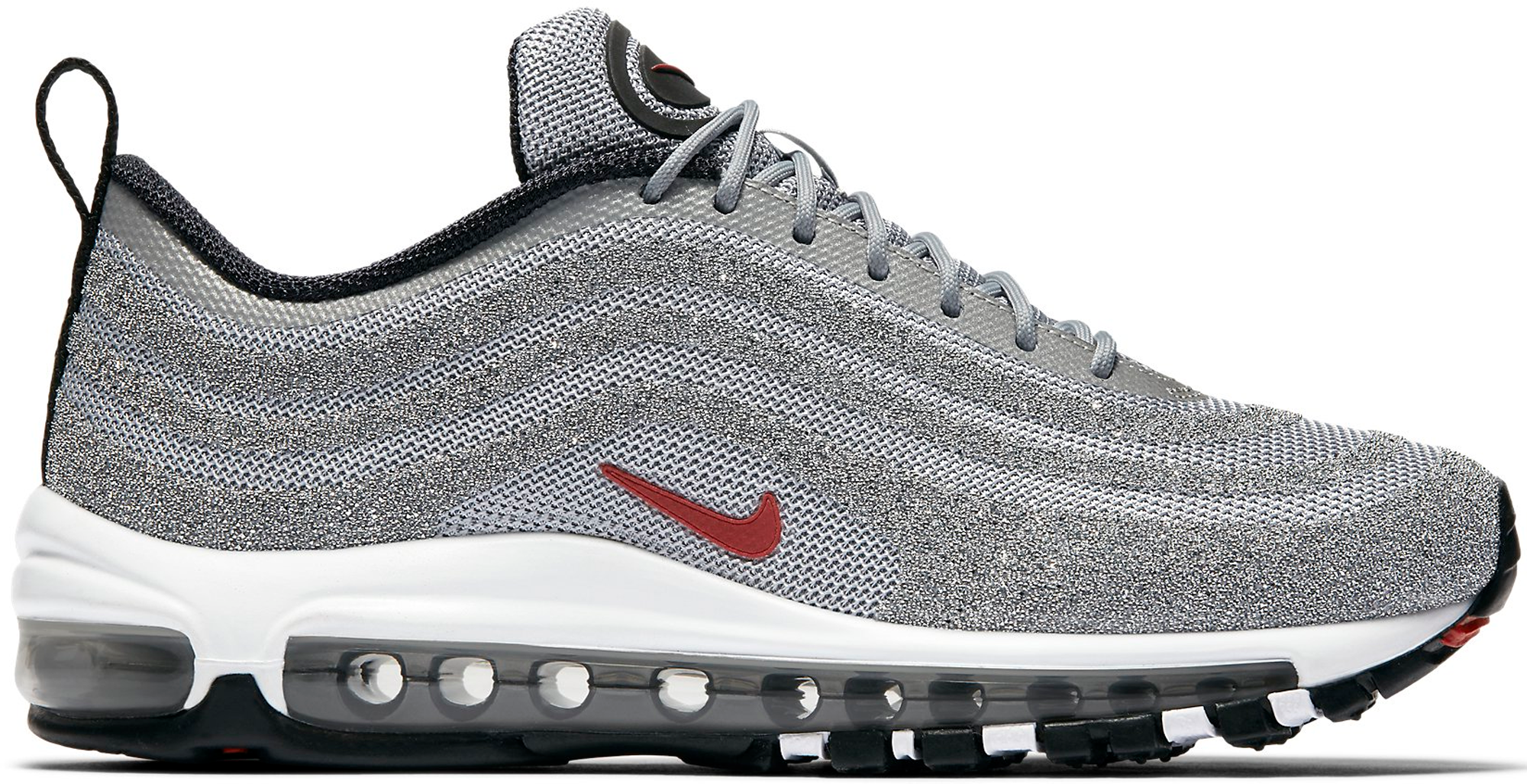 silver nike nere